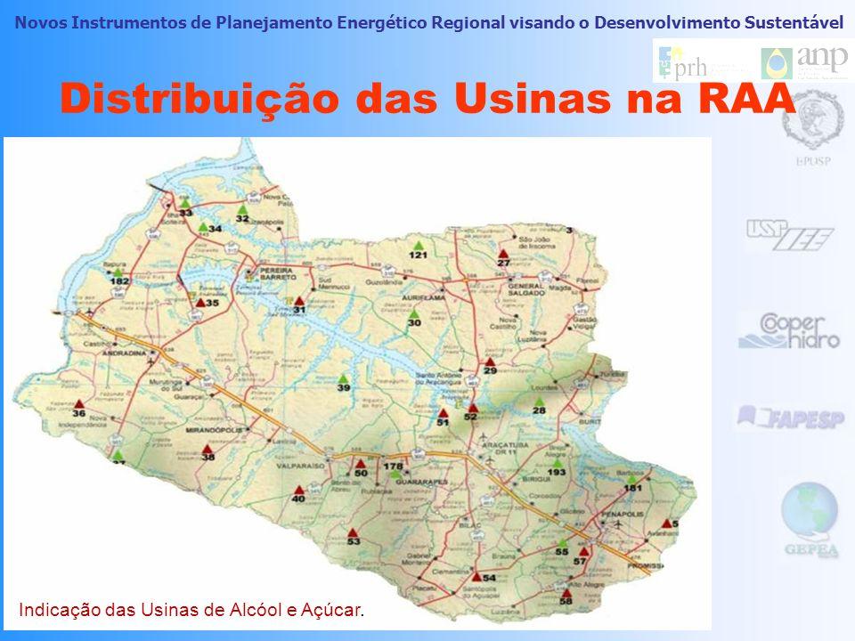 Novos Instrumentos de Planejamento Energético Regional visando o Desenvolvimento Sustentável 33 Usina Potência Instalada, (MW) Alcoazul7,40 Alcomira2,