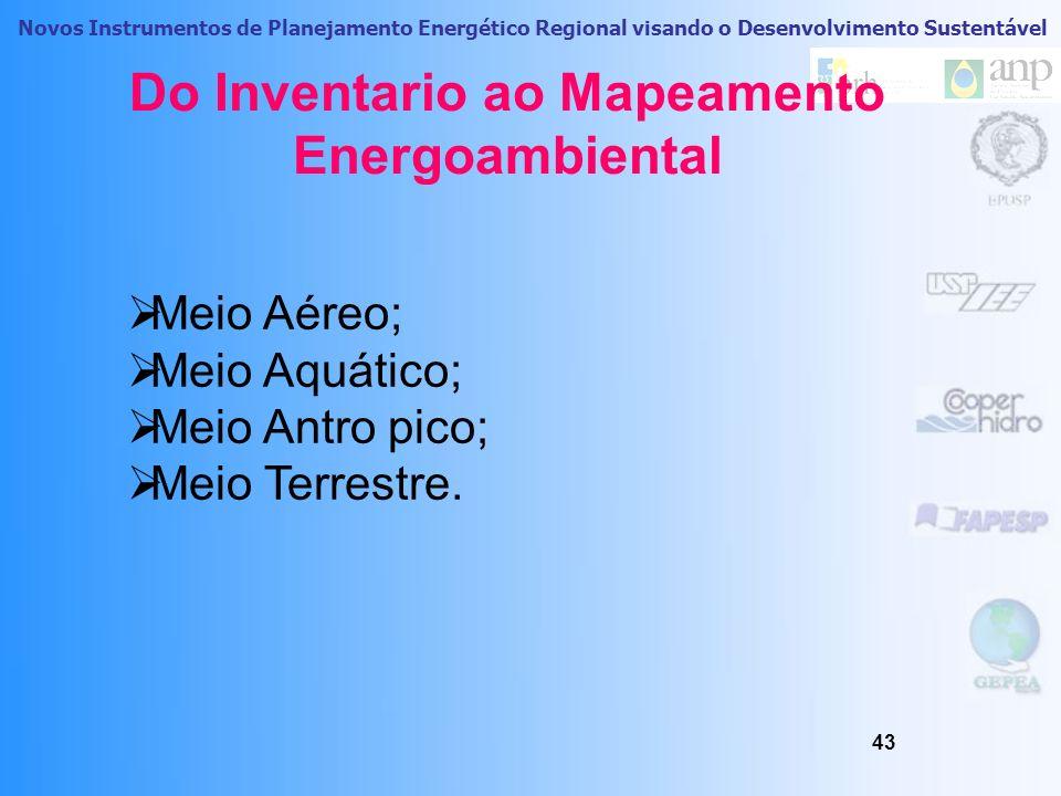 Novos Instrumentos de Planejamento Energético Regional visando o Desenvolvimento Sustentável Previsões do consumo e Demanda Cenário Tendencial 42