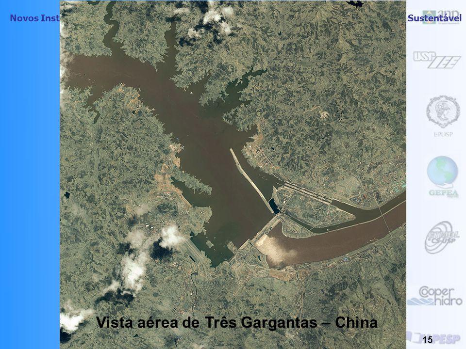 Novos Instrumentos de Planejamento Energético Regional visando o Desenvolvimento Sustentável 14 Potência produzida por hectare de área inundada de usi