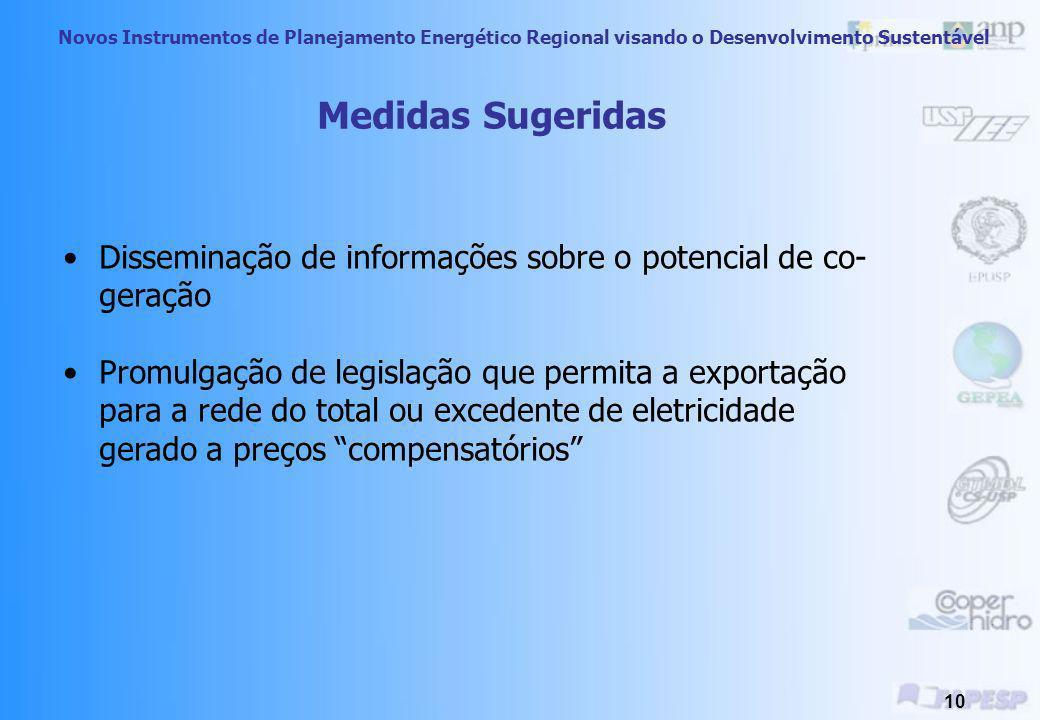 Novos Instrumentos de Planejamento Energético Regional visando o Desenvolvimento Sustentável 9 Barreira Indiferença à cogeração Procedência Desconheci