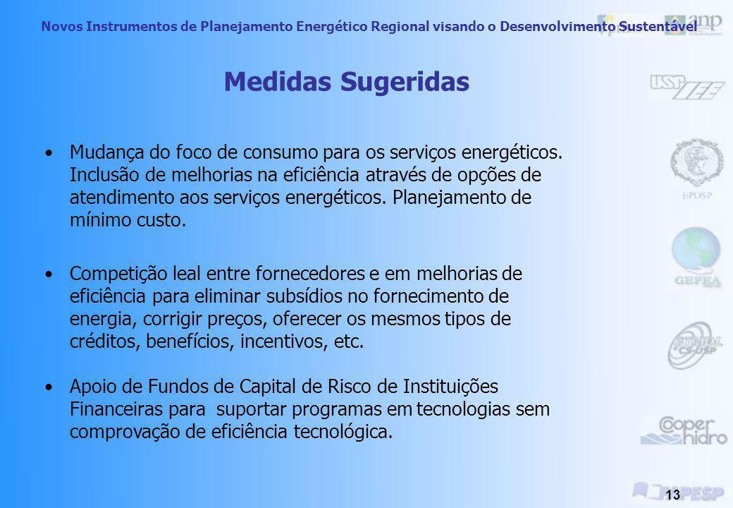 Novos Instrumentos de Planejamento Energético Regional visando o Desenvolvimento Sustentável 12 Barreira 1) Viés do Lado da Oferta 2) Parcialidade na