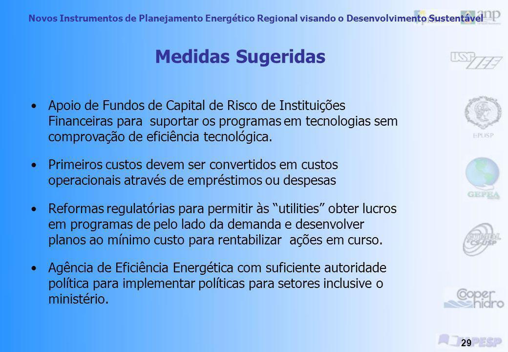 Novos Instrumentos de Planejamento Energético Regional visando o Desenvolvimento Sustentável 28 Barreira 1) Governo sem acesso a hardware e software 2