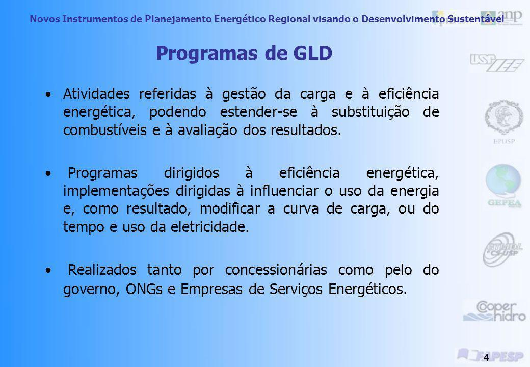 Novos Instrumentos de Planejamento Energético Regional visando o Desenvolvimento Sustentável 24 Medidas Sugeridas