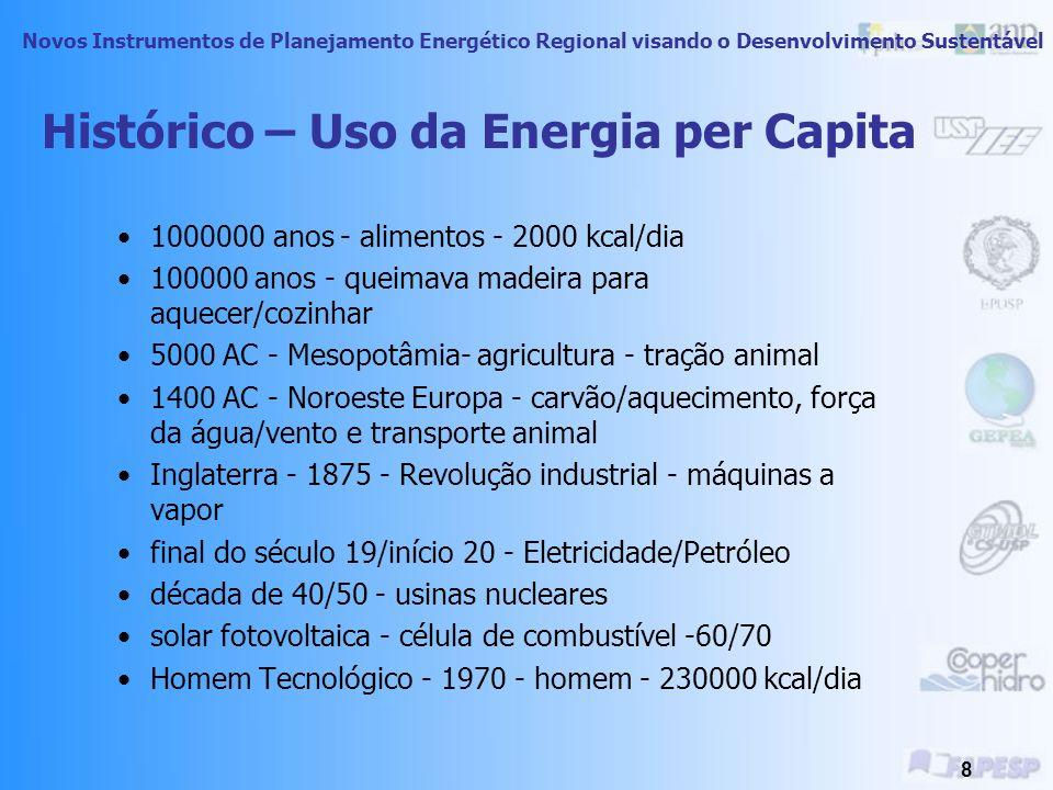 Novos Instrumentos de Planejamento Energético Regional visando o Desenvolvimento Sustentável 48 IDH Itá - IDHm 1991: 0,710 2000: 0,805 Itá – IDH renda 1991: 0,586 2000: 0,737