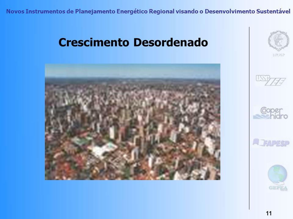 Novos Instrumentos de Planejamento Energético Regional visando o Desenvolvimento Sustentável 10 Conseqüências Sócio-espaciais