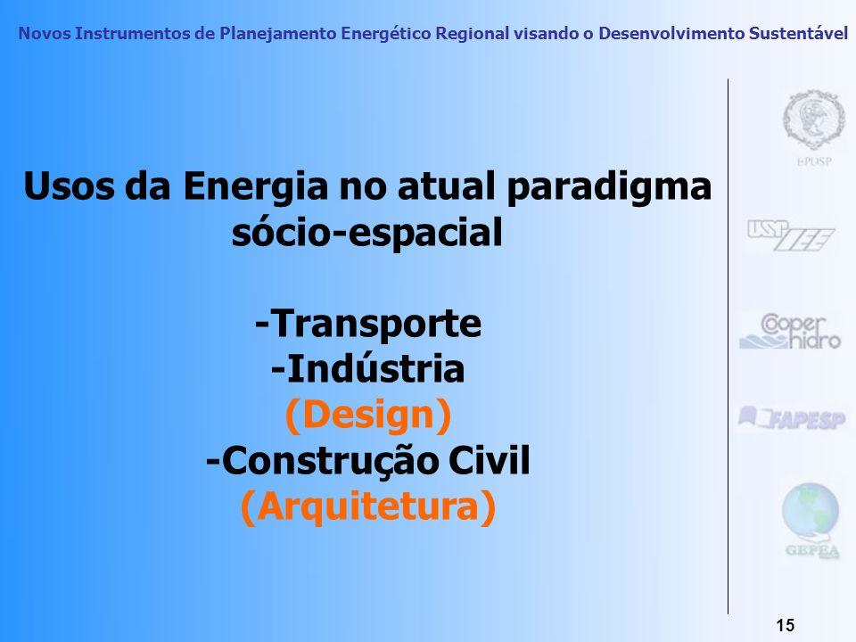 Novos Instrumentos de Planejamento Energético Regional visando o Desenvolvimento Sustentável 14 Dados sociais do Brasil metropolitano II