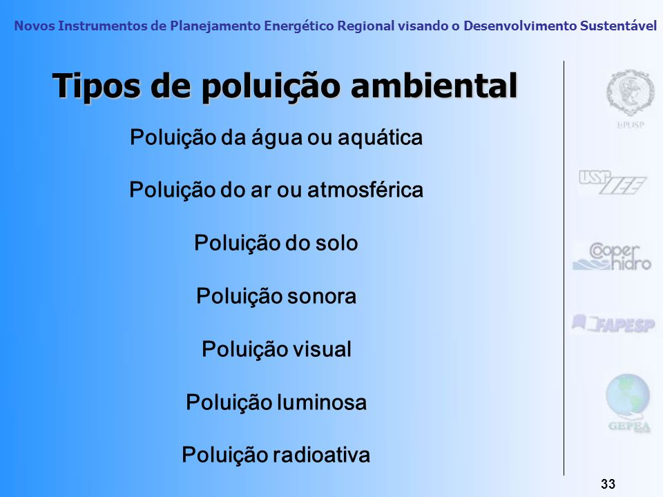 Novos Instrumentos de Planejamento Energético Regional visando o Desenvolvimento Sustentável 32 Impactos Ambientais no Macro Setor da Construção Civil