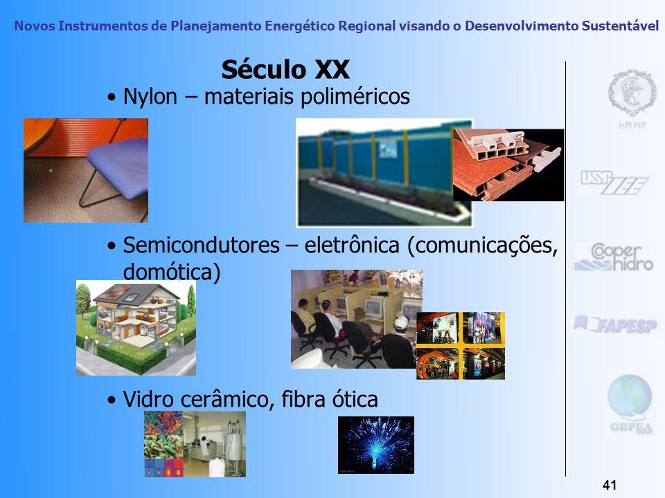 Novos Instrumentos de Planejamento Energético Regional visando o Desenvolvimento Sustentável 40 Segunda Revolução Industrial Desenvolvimento de novos