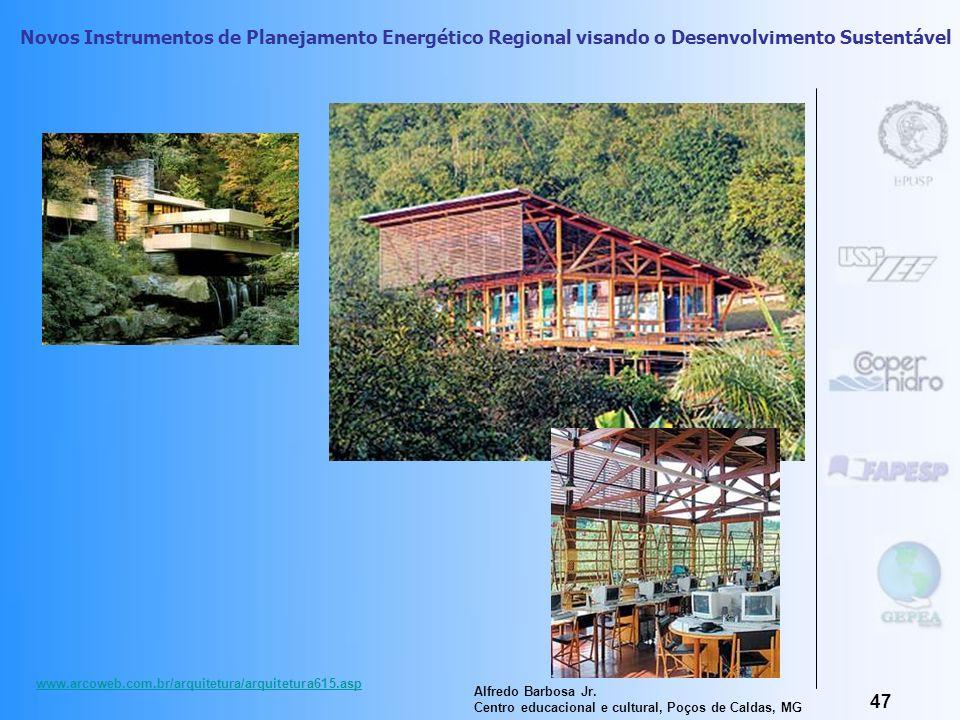 Novos Instrumentos de Planejamento Energético Regional visando o Desenvolvimento Sustentável 46 Urbanismo/ Paisagismo- identidade cultural