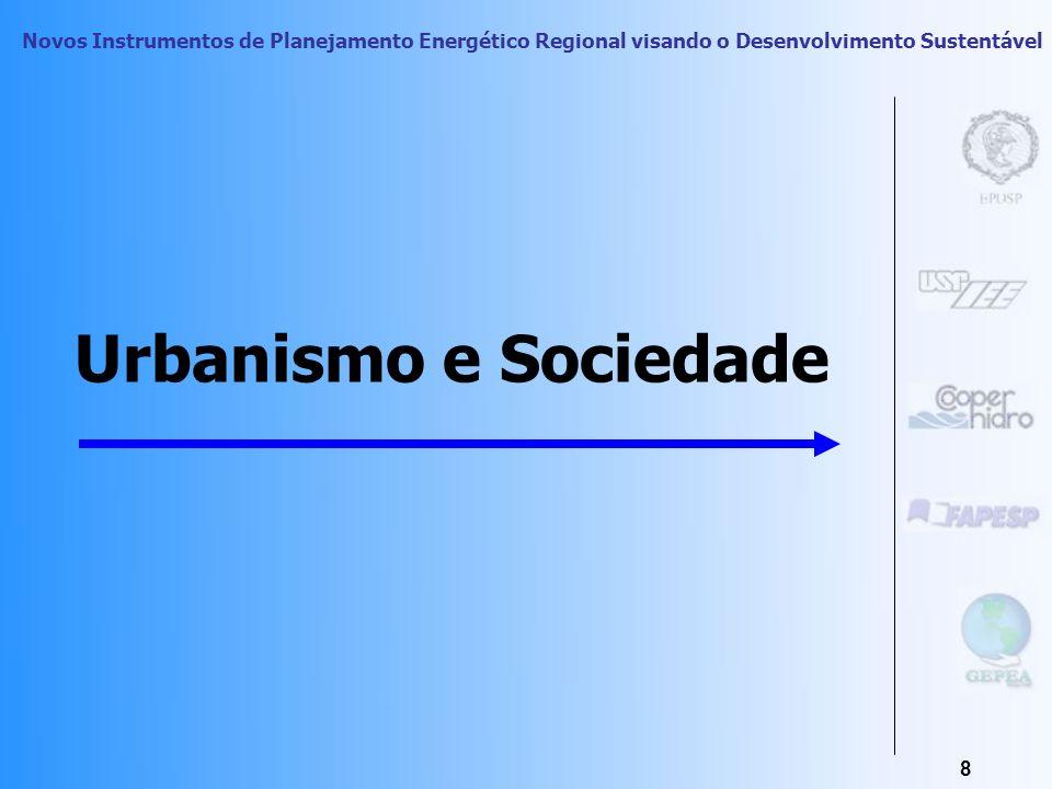 Novos Instrumentos de Planejamento Energético Regional visando o Desenvolvimento Sustentável 7 Subsistência e Sociedade refletidas na Configuração Esp