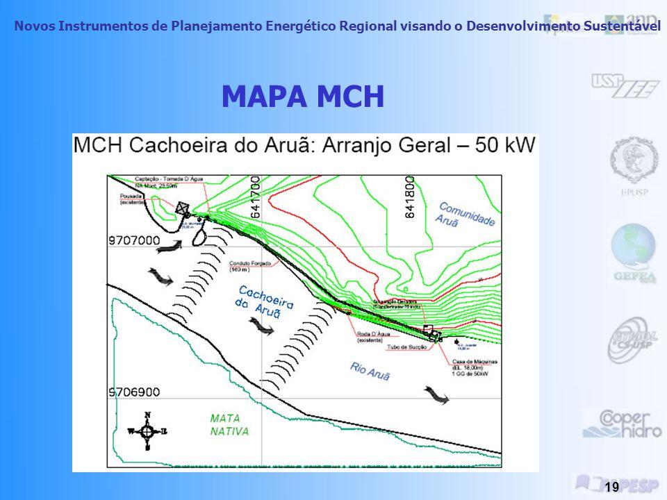 Novos Instrumentos de Planejamento Energético Regional visando o Desenvolvimento Sustentável 18 Comunidade Cachoeira do Aruã