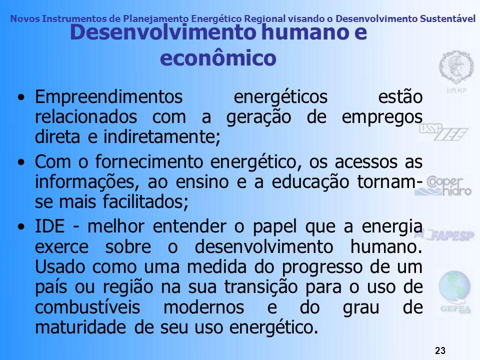 Novos Instrumentos de Planejamento Energético Regional visando o Desenvolvimento Sustentável 22