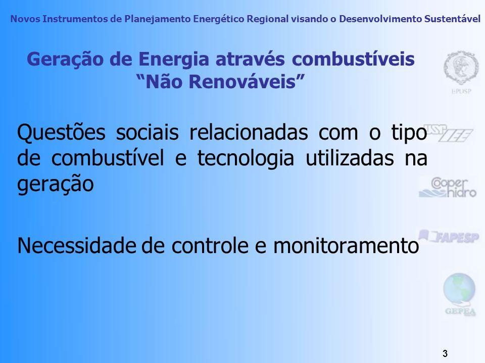 Novos Instrumentos de Planejamento Energético Regional visando o Desenvolvimento Sustentável 2 Visão Esquemática do Sistema Energético Dentro do PIR