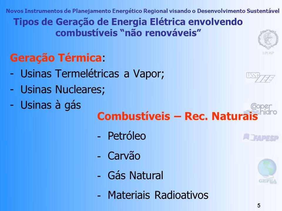 Novos Instrumentos de Planejamento Energético Regional visando o Desenvolvimento Sustentável 4 Inter - relações