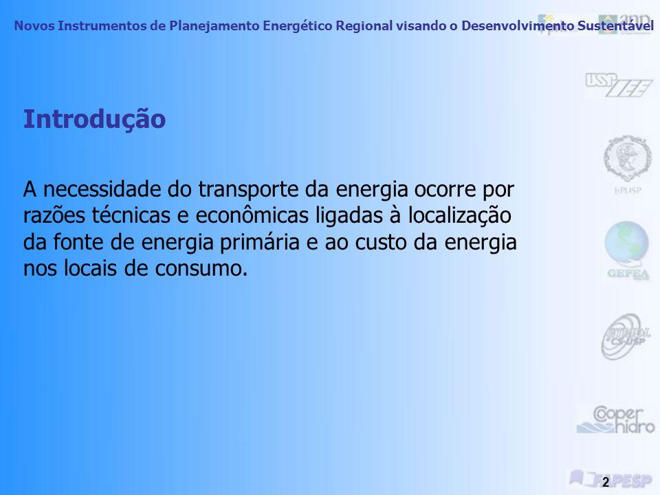 Planejamento Integrado de Recursos Energéticos no Oeste do Estado de São Paulo Treinamento Técnico- Dimensão Ambiental Novos Instrumentos de Planejamento Energético Regional visando o Desenvolvimento Sustentável Módulo 4: Meio Ambiente e o Transporte de Energia Ricardo Junqueira Fujii