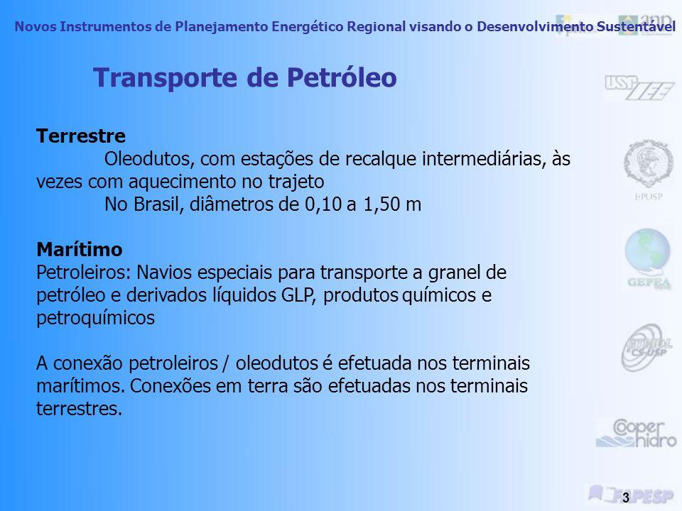 Novos Instrumentos de Planejamento Energético Regional visando o Desenvolvimento Sustentável 2 Introdução A necessidade do transporte da energia ocorr