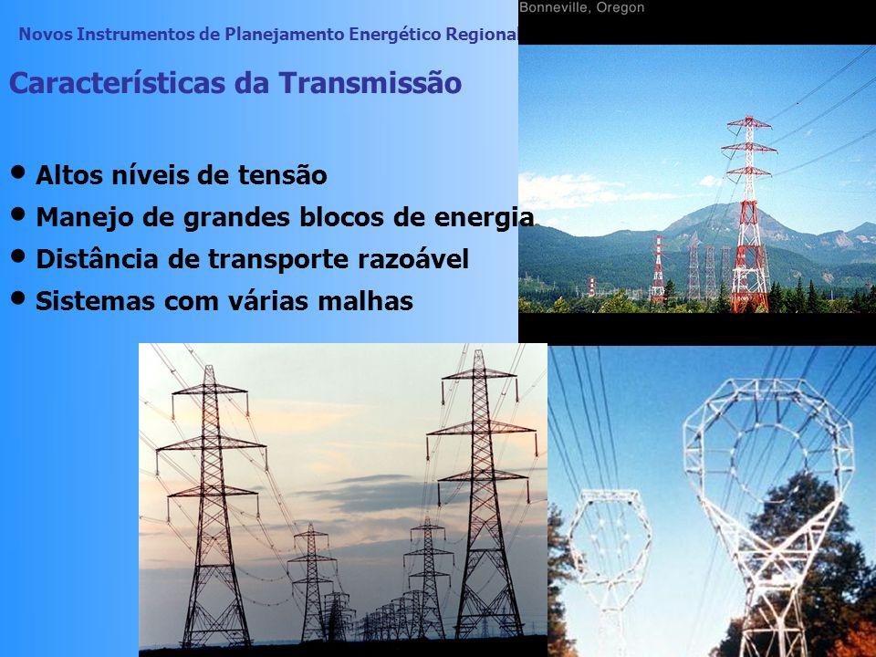 Novos Instrumentos de Planejamento Energético Regional visando o Desenvolvimento Sustentável 44 Funções da Transmissão Assegurar a otimização dos recu