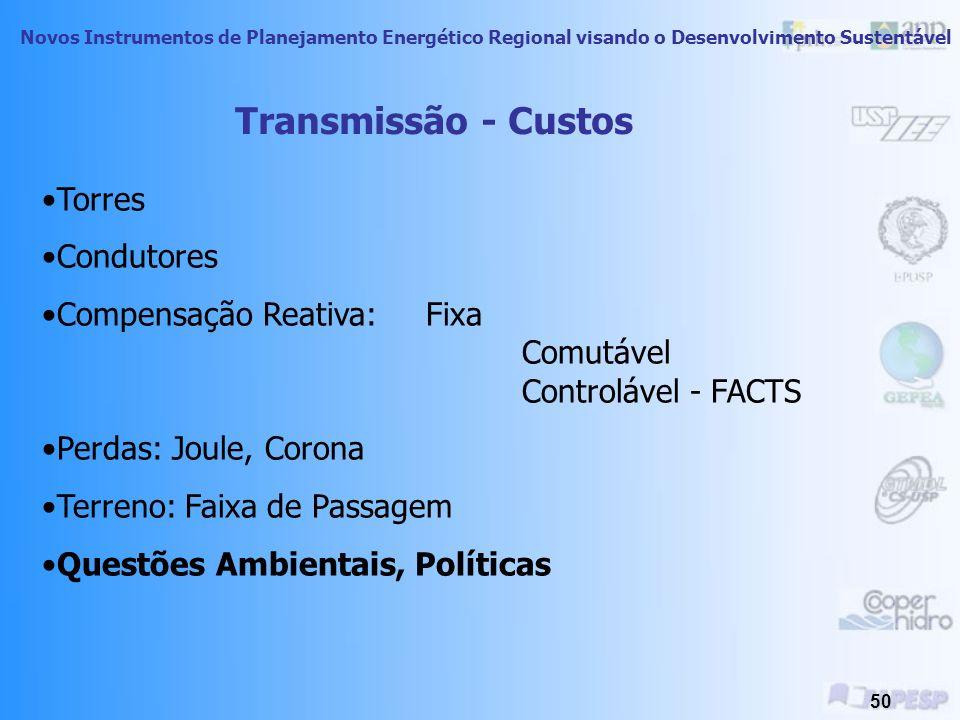 Novos Instrumentos de Planejamento Energético Regional visando o Desenvolvimento Sustentável 49 Fonte: ANP, 2002