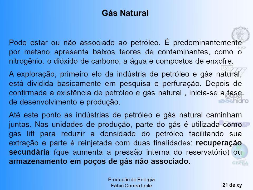 Produção de Energia Fábio Correa Leite 20 de xy MERCADO É o terceiro lugar na matriz energética mundial. Aproximadamente 13% das termelétricas mundiai