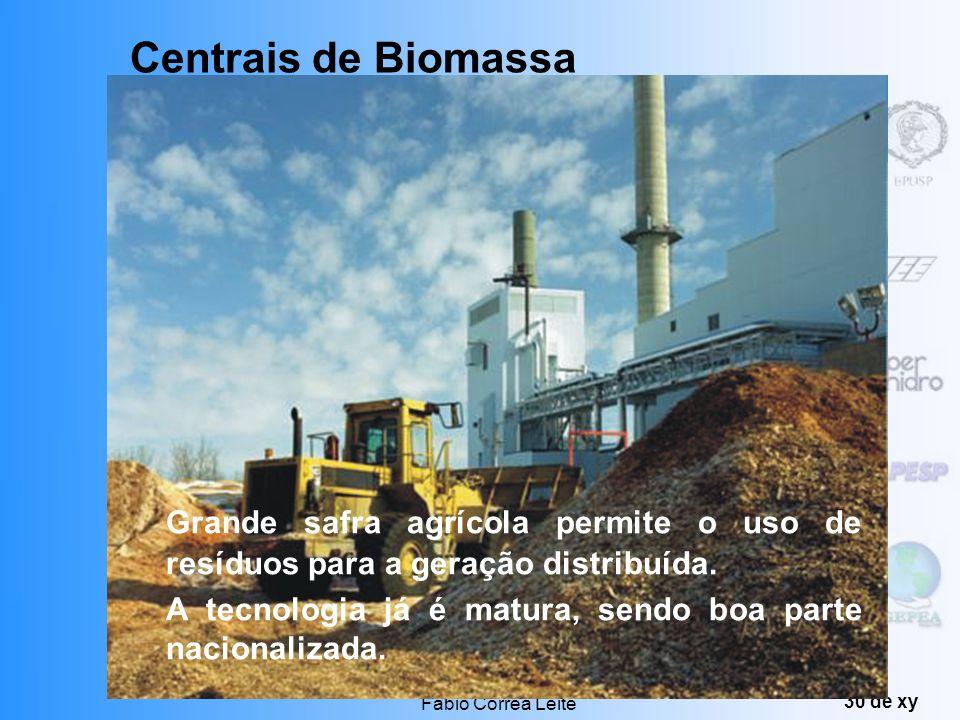 Produção de Energia Fábio Correa Leite 29 de xy Briquetes de madeira Centrais de Biomassa
