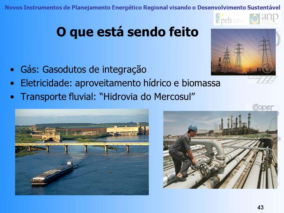 Novos Instrumentos de Planejamento Energético Regional visando o Desenvolvimento Sustentável 42 Efeitos Locais 42