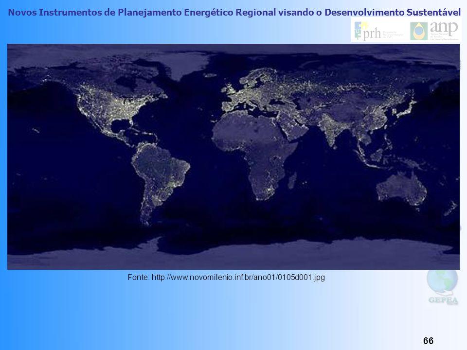 Novos Instrumentos de Planejamento Energético Regional visando o Desenvolvimento Sustentável 65 Eficiência Energética e Meio Ambiente O processo de re