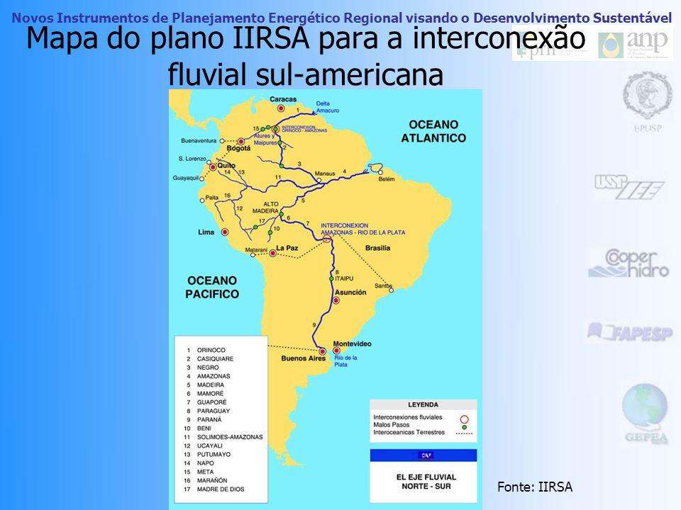 Novos Instrumentos de Planejamento Energético Regional visando o Desenvolvimento Sustentável Complexo Madeira Iniciativa do Plano Plurianual 2004-2007