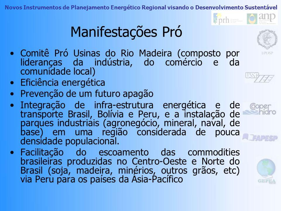 Novos Instrumentos de Planejamento Energético Regional visando o Desenvolvimento Sustentável Complexo Madeira Localização de Santo Antônio e Jirau. Os