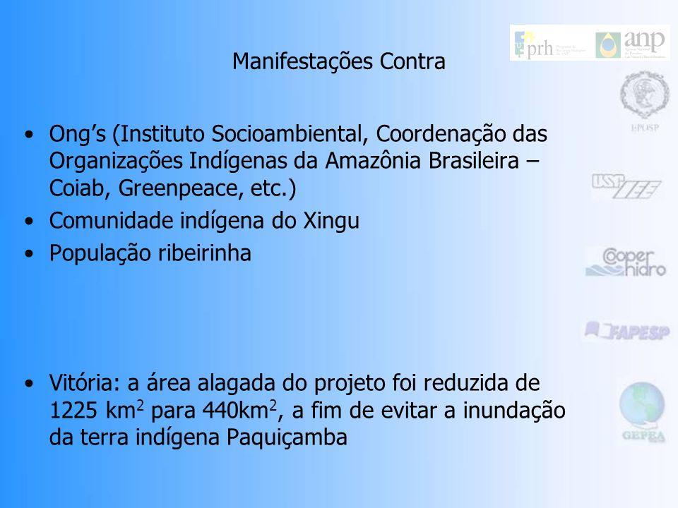 Manifestações Pró Eletronorte – Centrais Elétricas do Norte do Brasil S.A. Obra estratégica – interligação de bacias com diferentes regimes na rede na