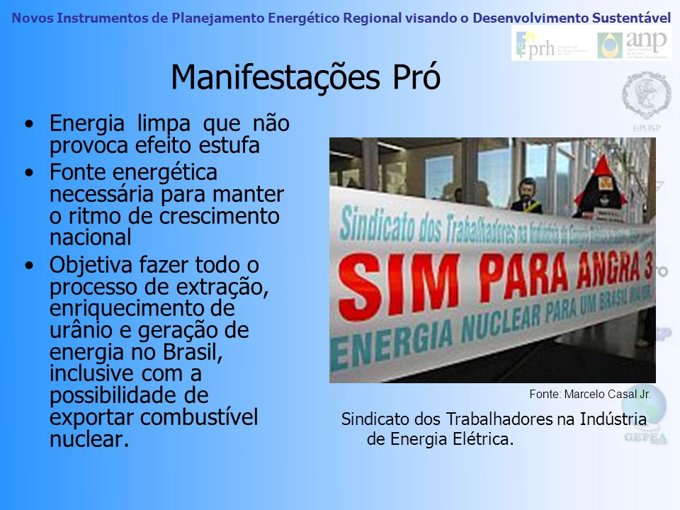 Novos Instrumentos de Planejamento Energético Regional visando o Desenvolvimento Sustentável ANGRA 3 Investimentos de R$ 7,184 bilhões. Potência de 1.