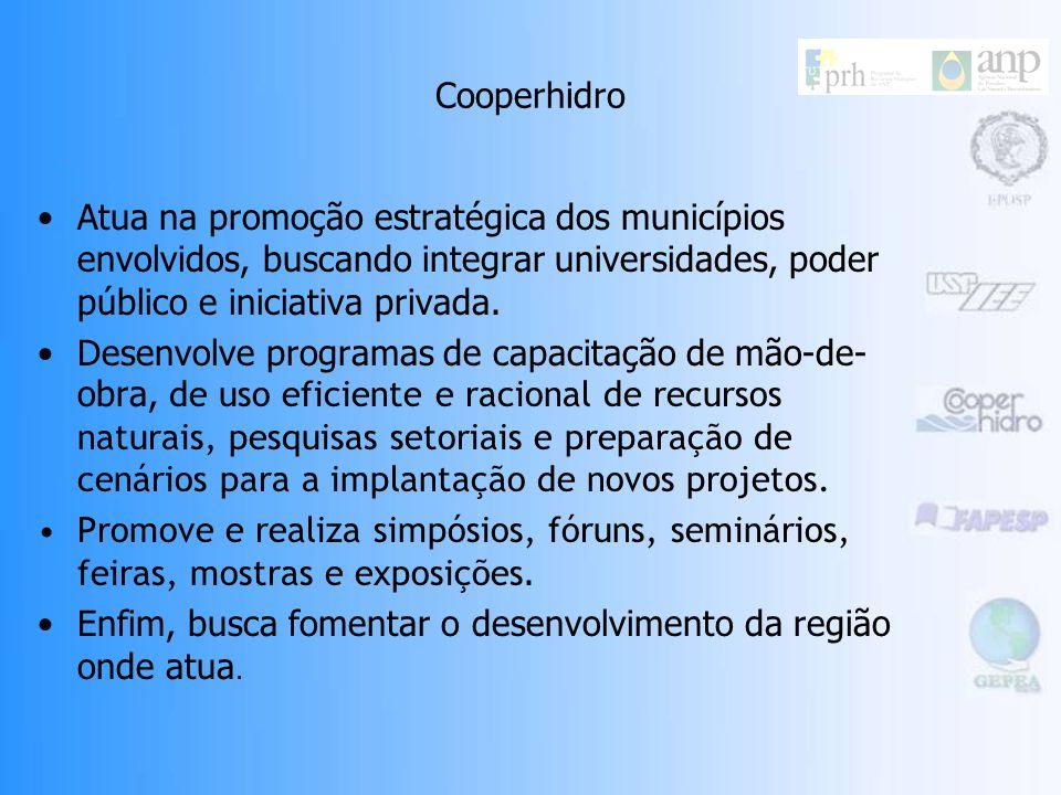 Cooperhidro Cooperativa do Pólo Hidroviário de Araçatuba Organização privada, independente e sem fins lucrativos, fundada em 1995. Agente local na RAA