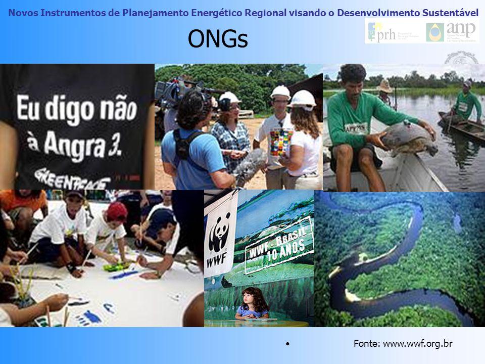 Novos Instrumentos de Planejamento Energético Regional visando o Desenvolvimento Sustentável Movimentos sociais no Brasil Criminalização por parte da