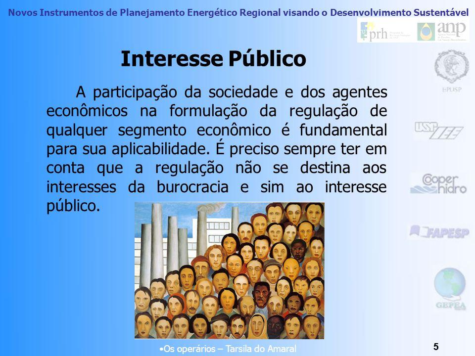 Novos Instrumentos de Planejamento Energético Regional visando o Desenvolvimento Sustentável 35 Planejamento do Setor Energético Visão Geral Atual do Setor de Energia Elétrica no Brasil Fonte: Petrobrás/2007