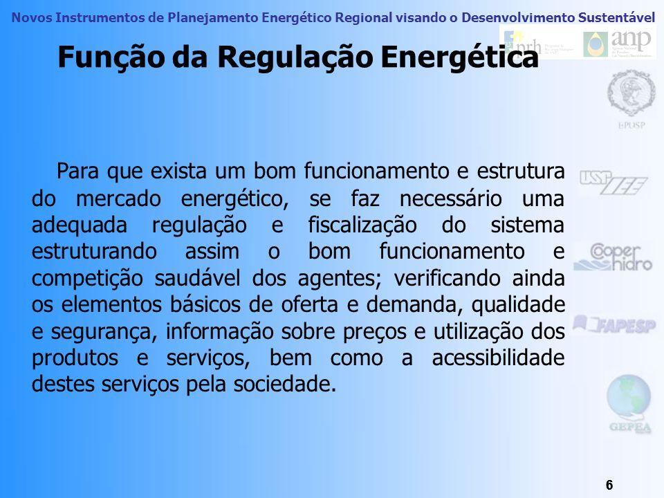 Novos Instrumentos de Planejamento Energético Regional visando o Desenvolvimento Sustentável 46 Modelo Energético