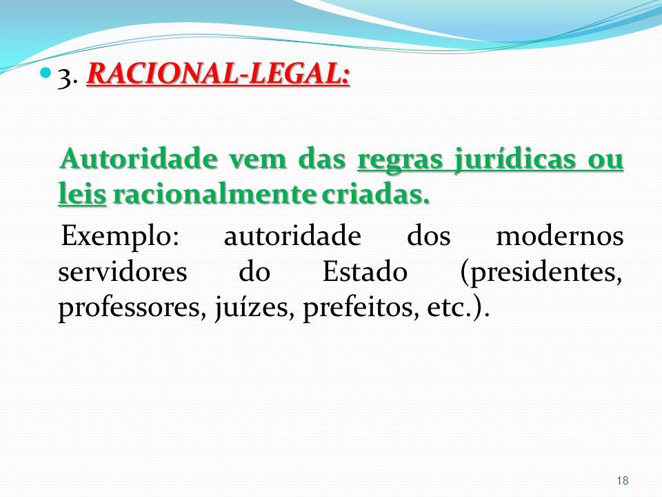 RACIONAL-LEGAL: 3.