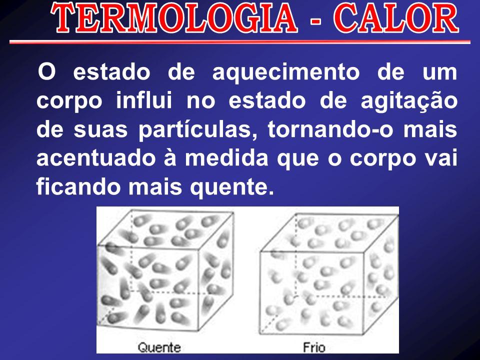 Termologia é a parte da física que estuda o calor, ou seja, ela estuda as manifestações dos tipos de energia que de qualquer forma produzem variação de temperatura, aquecimento ou resfriamento, ou mesmo a mudança de estado físico da matéria, quando ela recebe ou perde calor.