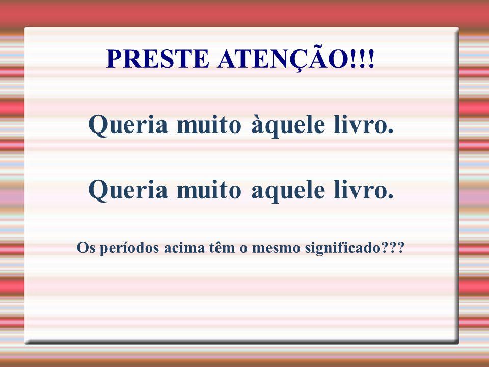 PRESTE ATENÇÃO!!.