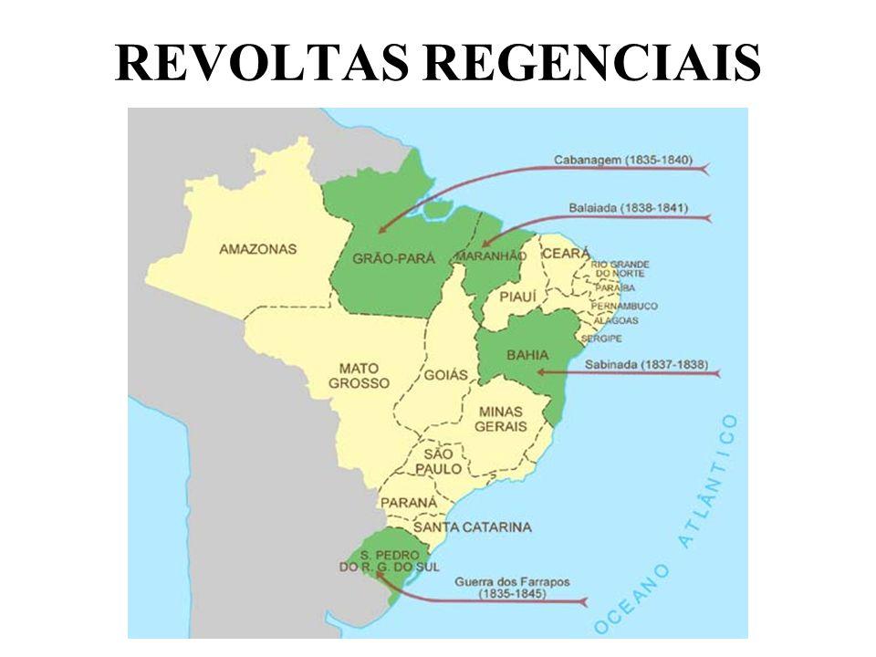 REVOLTAS REGENCIAIS