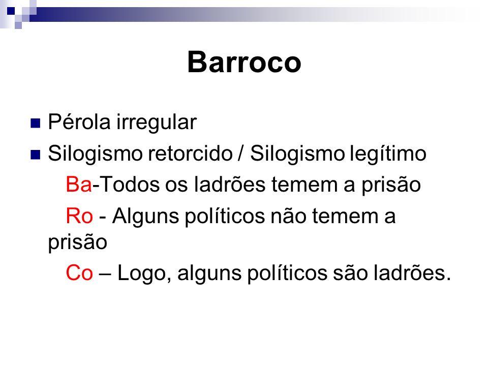 Correntes do Barroco Cultismo ou gongorismo –Jogo de palavras, jogo de imagens e jogo de construção.