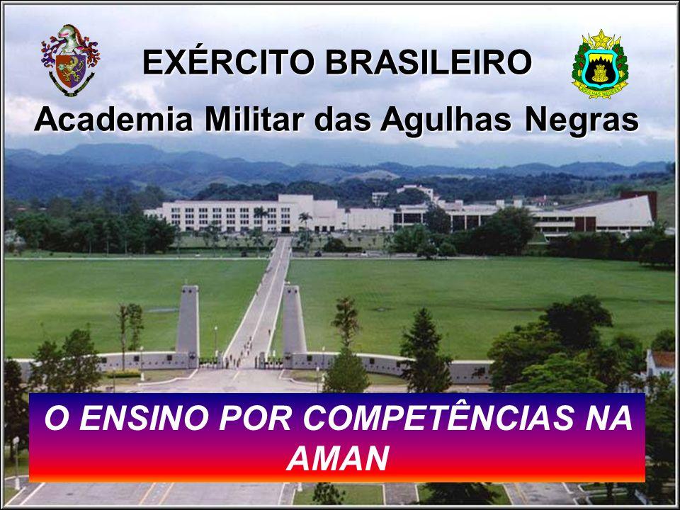 EXÉRCITO BRASILEIRO Academia Militar das Agulhas Negras O ENSINO POR COMPETÊNCIAS NA AMAN