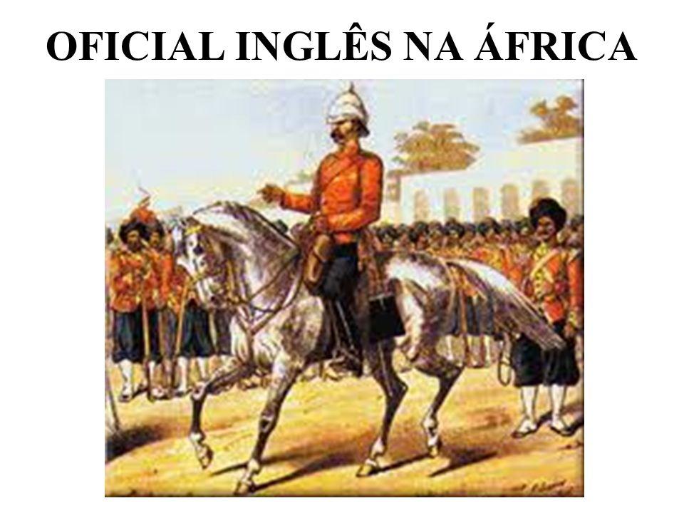 OFICIAL INGLÊS NA ÁFRICA
