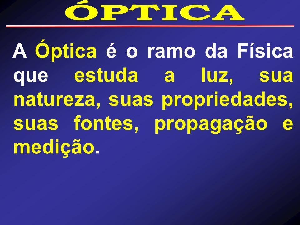 Os princípios fundamentais da óptica são: 2º - Princípio da Independência de raios de luz: os raios de luz são independentes, podendo até mesmo se cruzarem, não ocasionando nenhuma mudança em relação à direção dos mesmos;