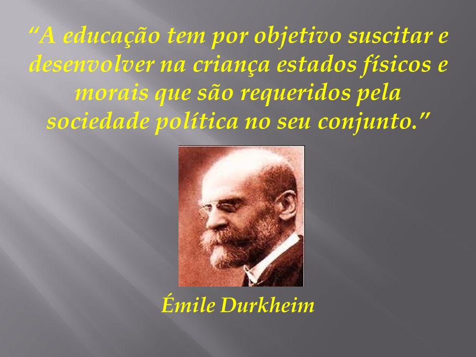 Questões que preocupavam Durkheim: O que se passava na França e na Europa.