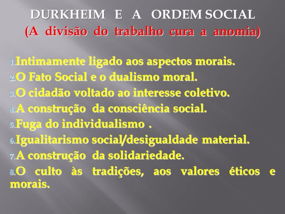 O FUTURO NOS RESERVA UMA SOCIEDADE CORPORATIVISTA.