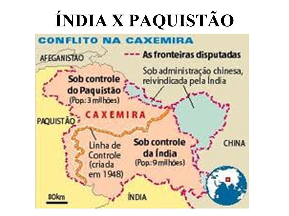 ÍNDIA X PAQUISTÃO