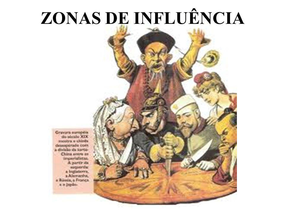 ZONAS DE INFLUÊNCIA