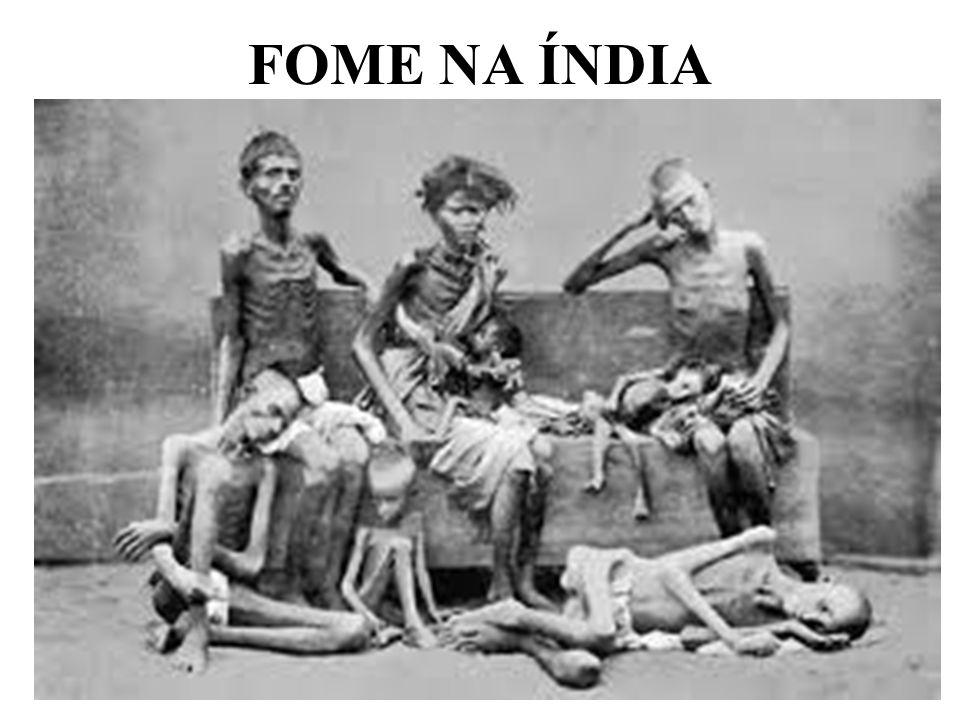 FOME NA ÍNDIA
