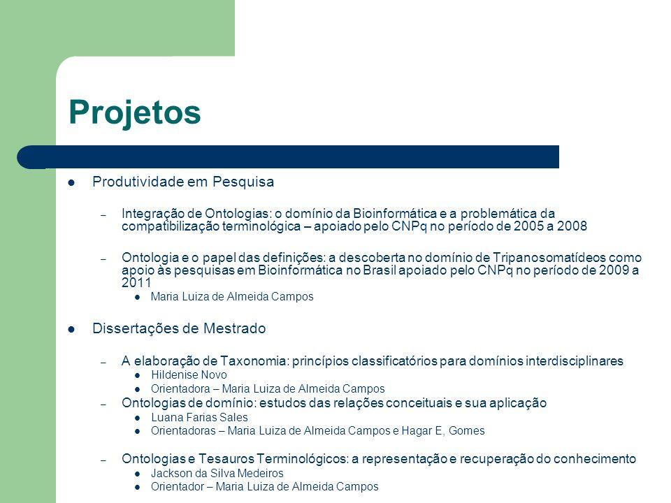 Projetos Produtividade em Pesquisa – Integração de Ontologias: o domínio da Bioinformática e a problemática da compatibilização terminológica – apoiad