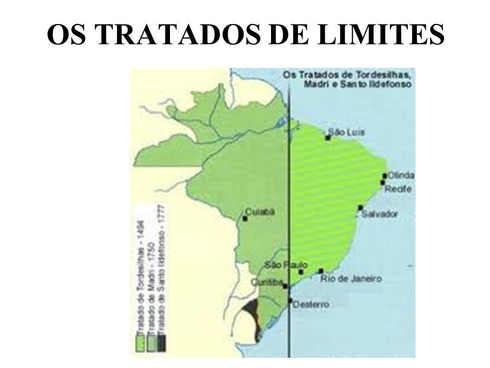 OS TRATADOS DE LIMITES
