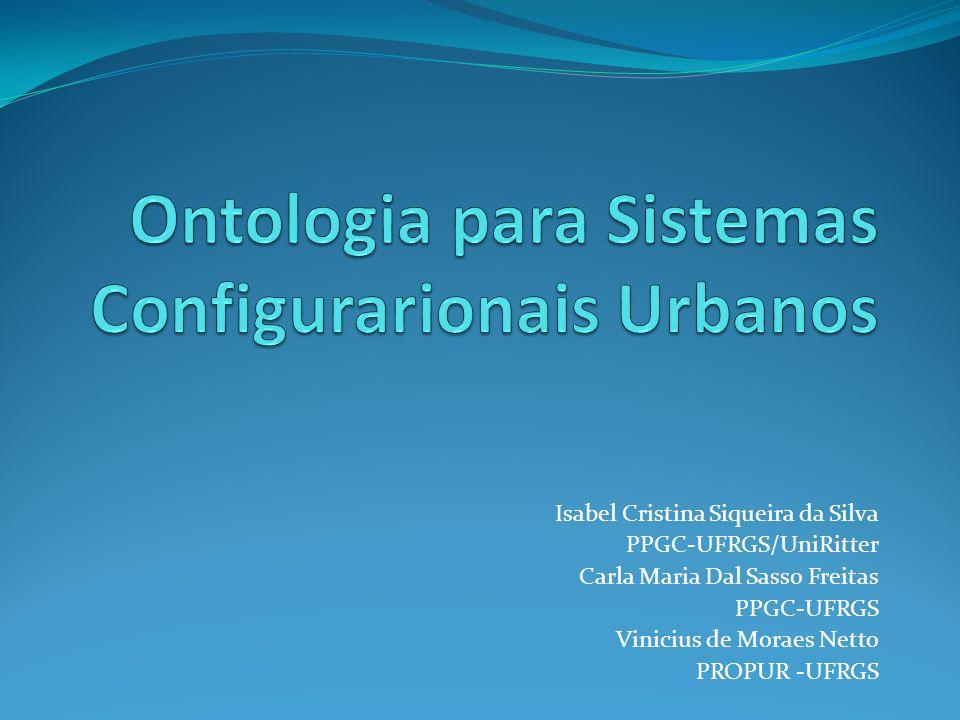 Isabel Cristina Siqueira da Silva PPGC-UFRGS/UniRitter Carla Maria Dal Sasso Freitas PPGC-UFRGS Vinicius de Moraes Netto PROPUR -UFRGS